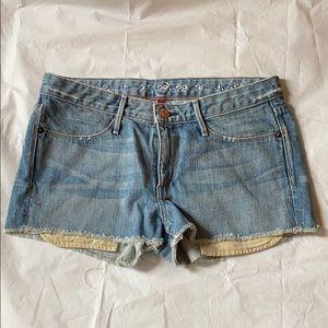 Earnest Sewn keaton cutoff denim shorts 28